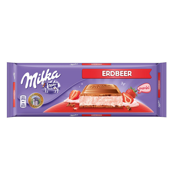 Milka čokolada | Jagoda | 300g