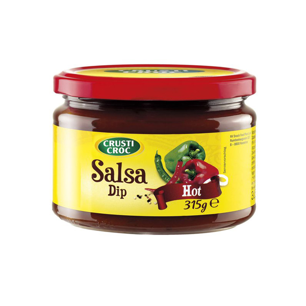 Salsa Dip Hot | Crusti Croc | 315g